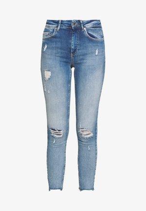 ONLBLUSH MID DETROY - Jeans Skinny Fit - light blue denim