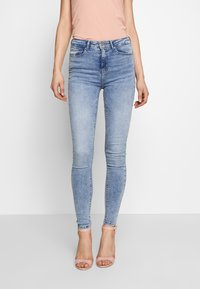 ONLY - ONLPAOLA LIFE - Skinny džíny - light blue denim - 0