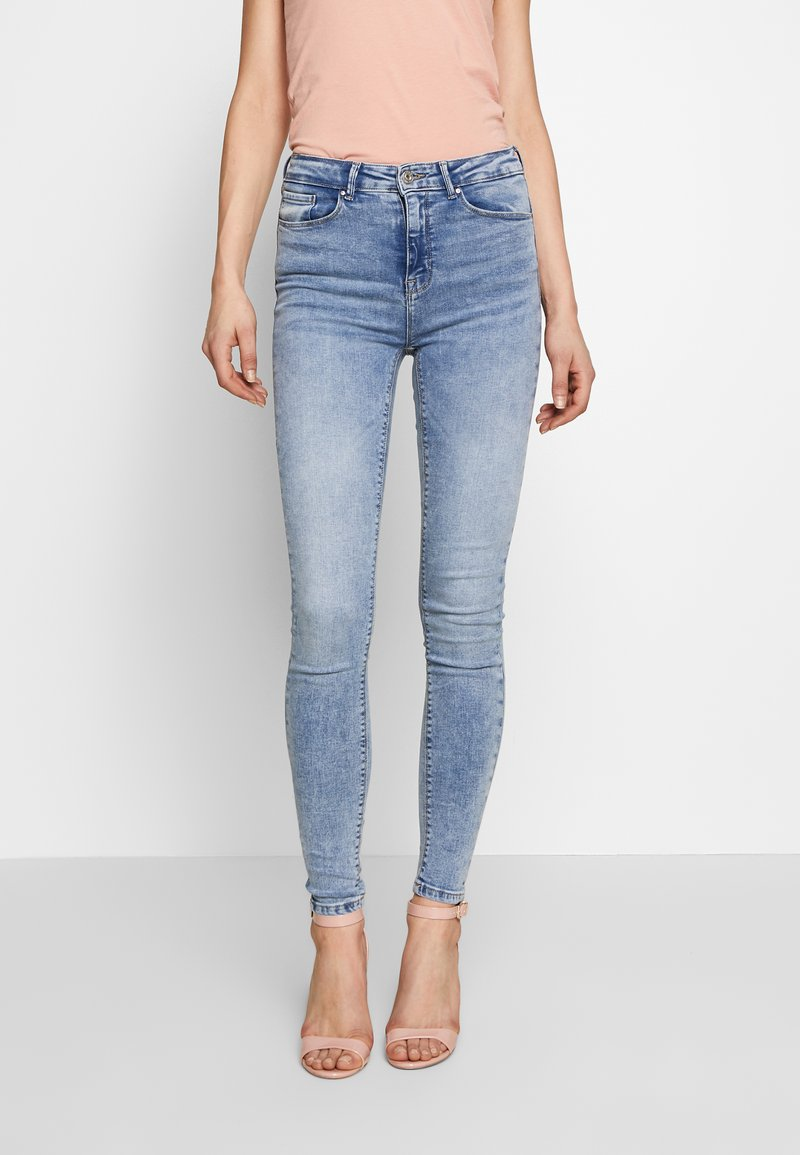 ONLY - ONLPAOLA LIFE - Skinny džíny - light blue denim