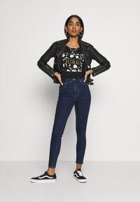ONLY - ONLOPTION LIFE  - Jeans Skinny Fit - dark blue - 1