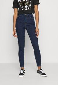 ONLY - ONLOPTION LIFE  - Jeans Skinny - dark blue - 0