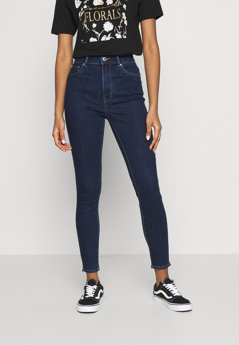 ONLY - ONLOPTION LIFE  - Jeans Skinny - dark blue