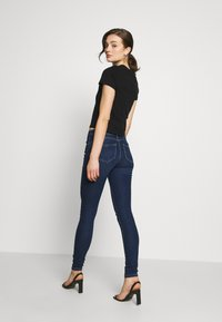 ONLY - DAISY REG PUSH UP - Jeans Skinny Fit - dark blue denim - 2