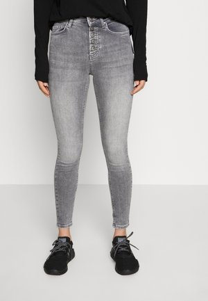 ONLBLUSH BUTTON - Skinny džíny - medium grey denim