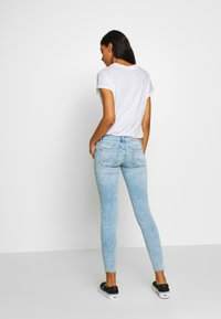 ONLY - ONLCORAL RAW - Jeans Skinny Fit - light blue denim - 2