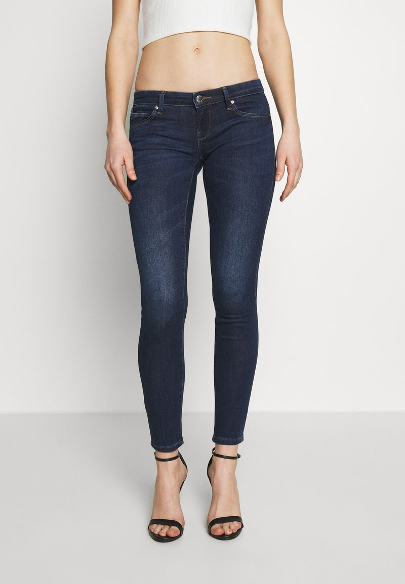 ONLY - ONLCORAL SKINNY ANK - Jeans Skinny Fit - dark blue denim