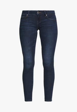 ONLCORAL SKINNY ANK - Jeans Skinny Fit - dark blue denim