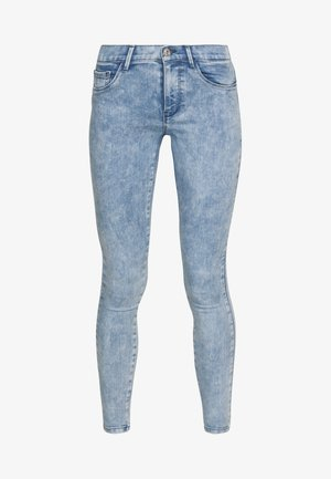 ONLRAIN ANKLE ACID WASH - Jeans Skinny Fit - light blue denim
