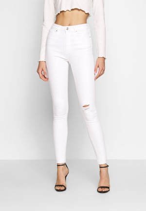 ONLPAOLA  RAW - Jeans Skinny Fit - white