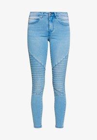 ONLY - ONLROYAL REG BIKER - Jeans Skinny Fit - light blue denim - 4