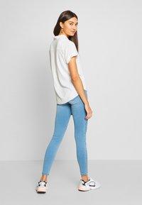 ONLY - ONLROYAL REG BIKER - Jeans Skinny Fit - light blue denim - 2