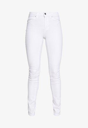 ONLBLUSH MID  - Skinny džíny - white