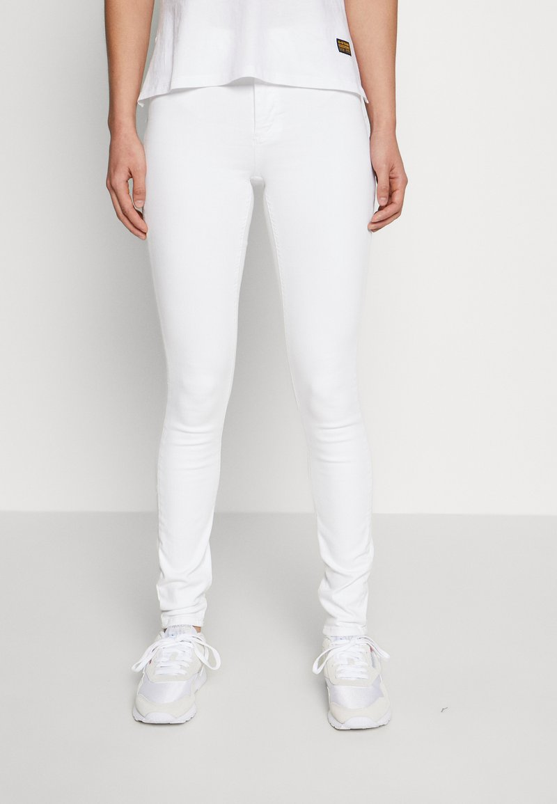 ONLY - ONLBLUSH MID  - Jeans Skinny Fit - white