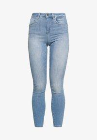 ONLY - ONLPOWER MID PUSH UP - Jeans Skinny Fit - light blue denim - 3