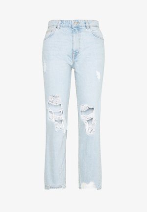 ONLDREAMER LIFE - Jeansy Straight Leg - light blue denim