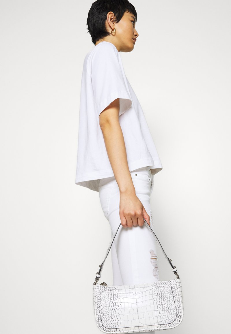 ONLY ONLCORAL - Jeans Skinny Fit - white