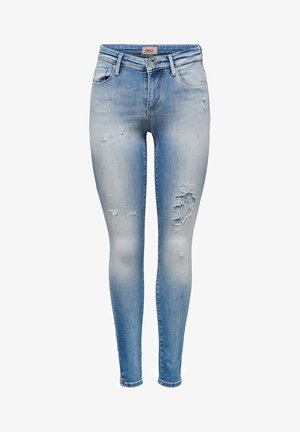 ONLFCARMEN  - Jeans Skinny Fit - light blue denim