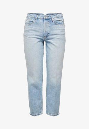 ONQROSS HW ZIGARETTEN - Jeansy Straight Leg - light blue denim