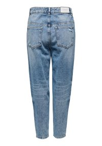 ONLY - ONLY STRAIGHT FIT JEANS ONLTOBI LIFE MID CARROT - Relaxed fit jeans - medium blue denim - 5
