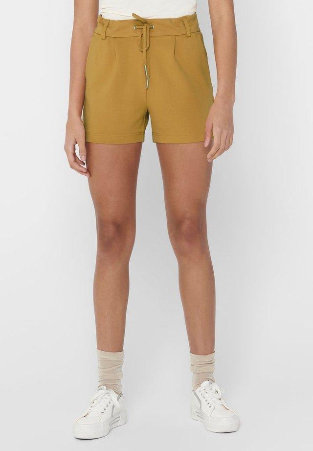 ONLPOPTRASH EASY SHORTS NOOS - Shorts - spruce yellow