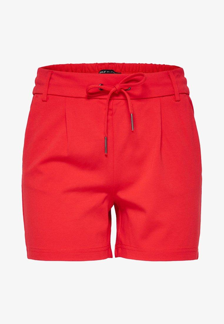ONLY - ONLPOPTRASH  - Shorts - red