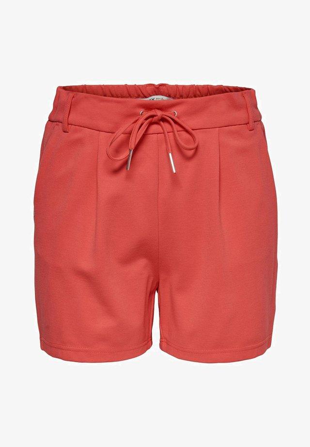 ONLPOPTRASH EASY SHORTS NOOS - Shorts - cayenne