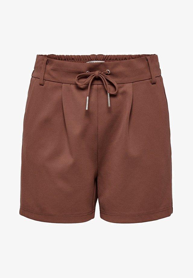 ONLPOPTRASH EASY SHORTS NOOS - Shorts - henna