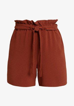 ONLTURNER PAPER BAG  - Shorts - russet brown