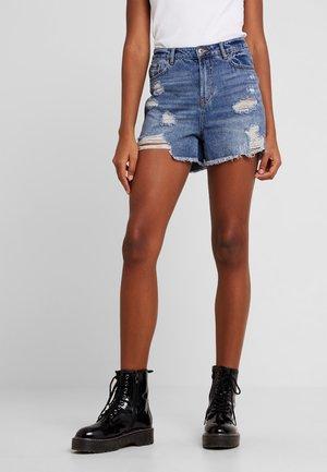 ONLKELLY  - Denim shorts - medium blue denim
