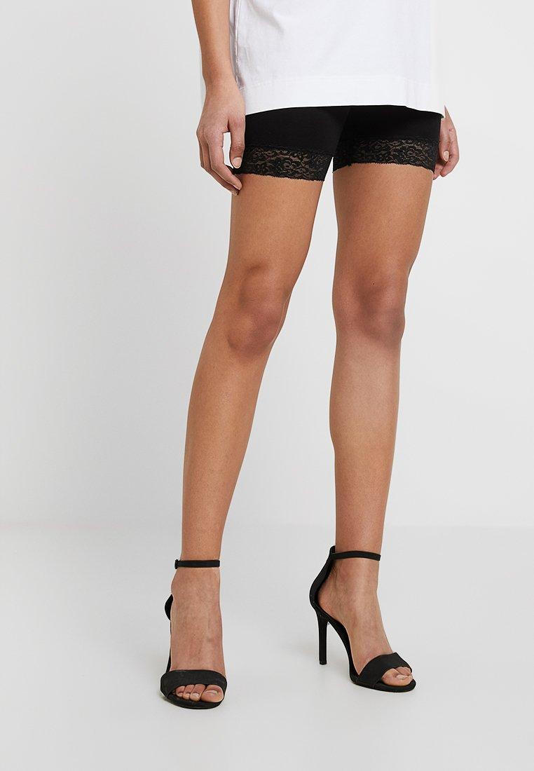 ONLY - ONLLIVE LOVES 2 PACK - Shorts - black