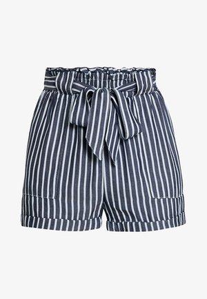 ONLMANHATTAN  - Shorts - white/blue