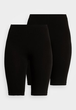 ONLLIVE LOVE CITY 2 PACK - Short - black/black