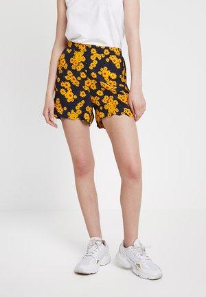 ONLDAISY  - Short - black/yellow daisy