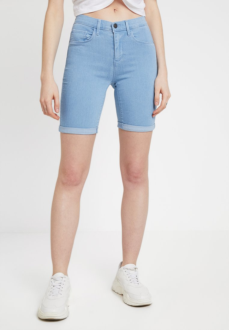 ONLY - ONLRAIN MID LONG  - Jeans Shorts - light blue denim
