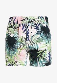 ONLY - ONLPOPTRASH PALM LEAF PRINT - Shorts - black - 3
