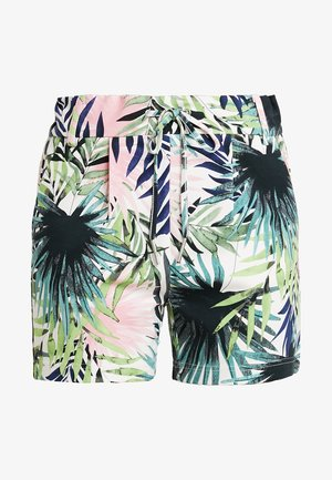 ONLPOPTRASH PALM LEAF PRINT - Shorts - black