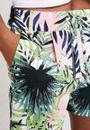 ONLY - ONLPOPTRASH PALM LEAF PRINT - Shorts - black