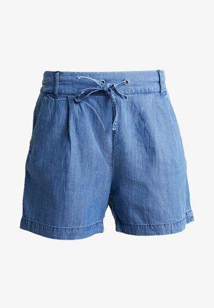 ONLPOPTRASH MIX - Shorts - medium blue denim
