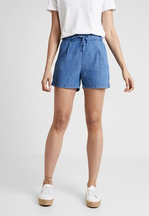 ONLPOPTRASH MIX - Shorts - medium blue denim
