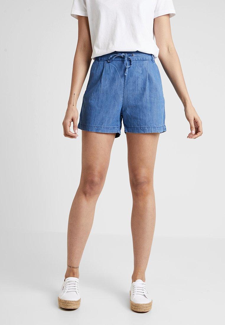 ONLY - ONLPOPTRASH MIX - Shorts - medium blue denim
