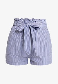 ONLY - ONLSMILLA STRIPE BELT - Shorts - medium blue denim - 3