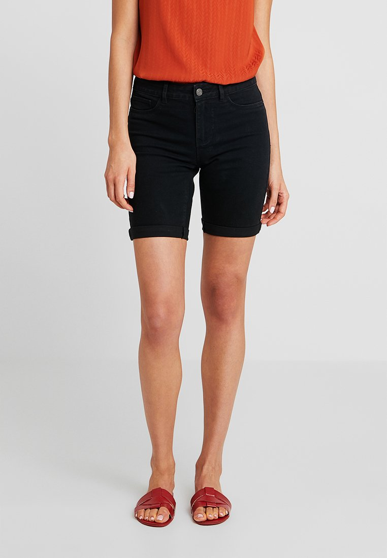 ONLY - ONLMOON ANNE BOX - Jeans Shorts - black