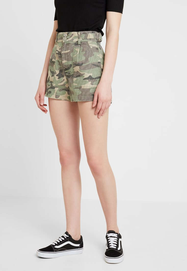 ONLY - ONLRHONDA CAMU - Denim shorts - kalamata