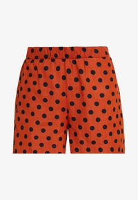 ONLY - ONLDOTTY  - Shorts - potters clay/big black - 4