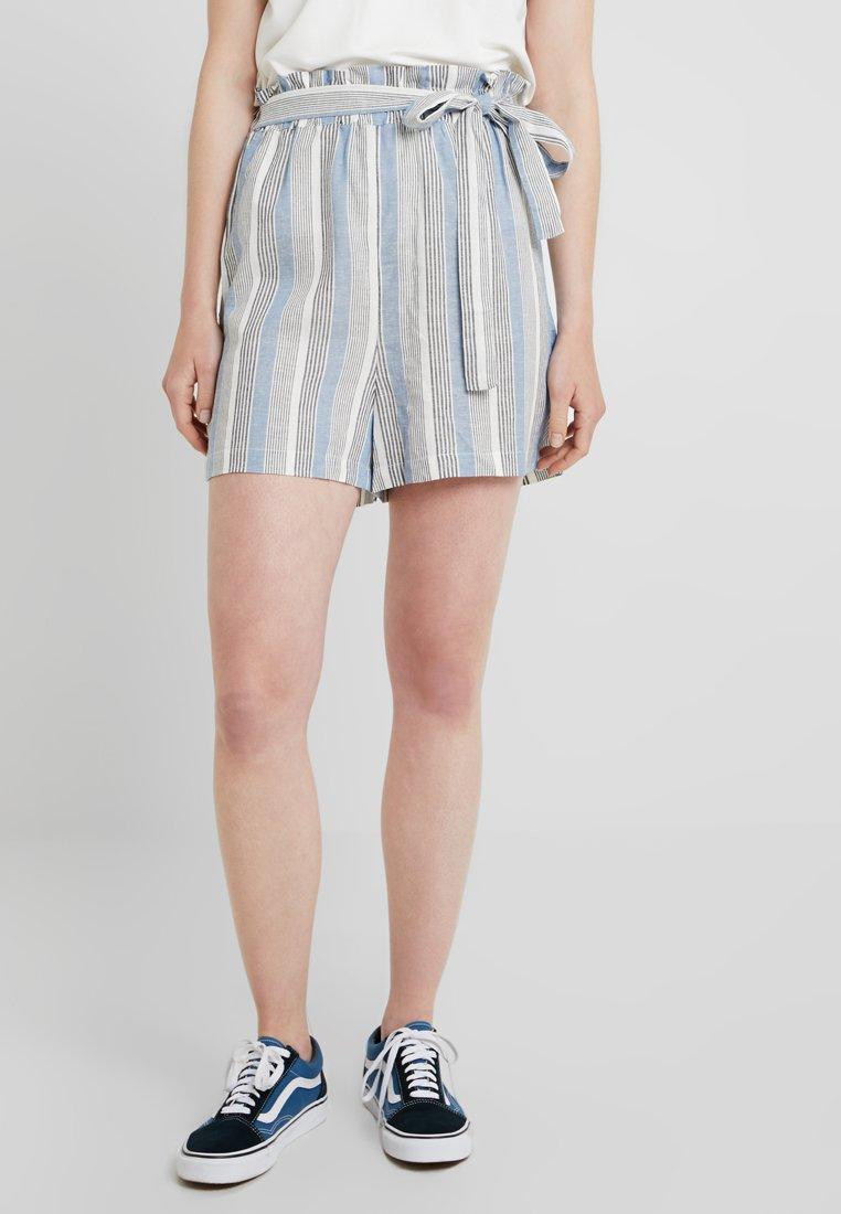 ONLY - ONLAMALIA PAPERBAG  - Shorts - copen blue
