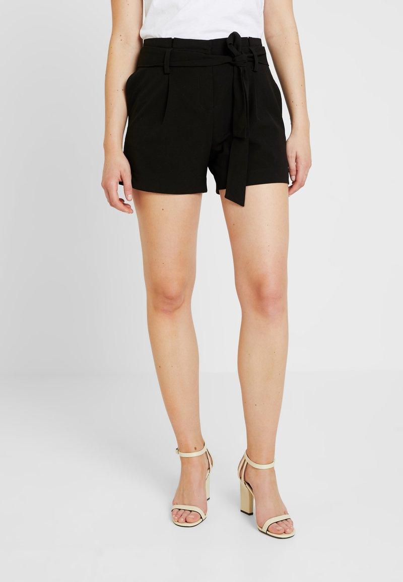 ONLY - ONYTINI PAPERBAG - Shorts - black