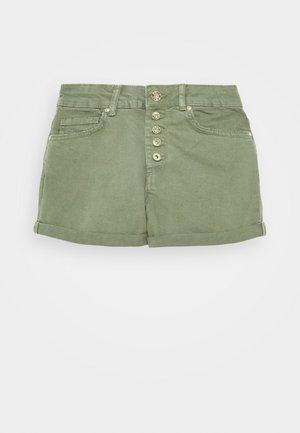 ONLHUSH BUTTON BOX - Denim shorts - kalamata