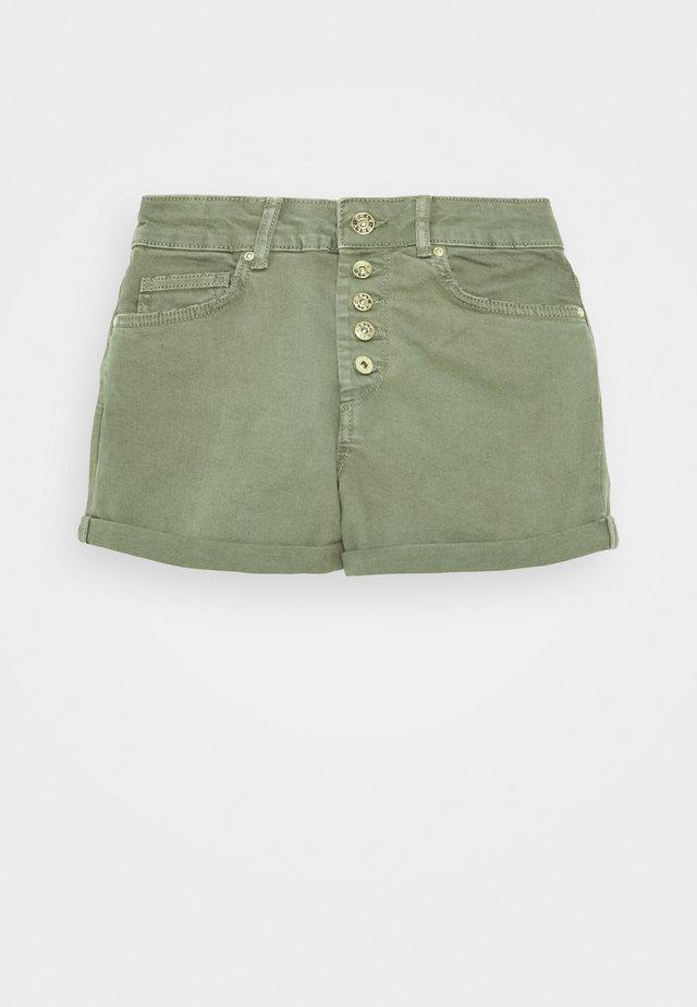 ONLHUSH BUTTON BOX - Jeansshort - kalamata