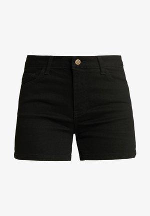 ONLCARMEN - Jeans Shorts - black denim