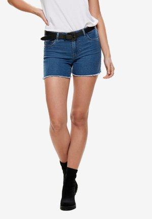 ONLSUN - Denim shorts - medium blue denim